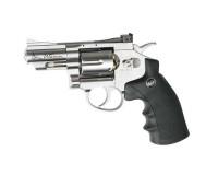 Revolver ASG Dan Wesson chromé 2.5 pouces - à plombs 4.5 mm