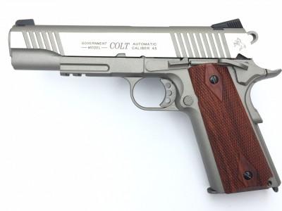 COLT 1911 RAIL GUN INOX