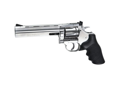 REVOLVER ASG DAN WESSON 715 6 POUCES CHROME  CAL 4,5 MM