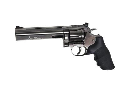 Revolver ASG Dan Wesson 715 6 pouces acier gris - à plombs 4.5 mm