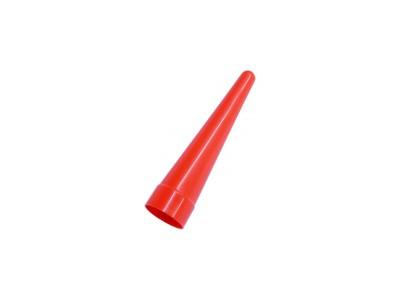 Cône de signalisation rouge pour lampe Diamètre 34 mm