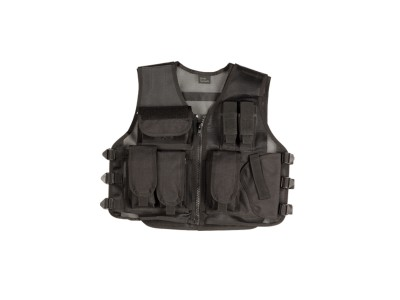 Gilet TACTICAL RECON LARGE noir ASG