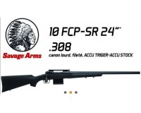 CARABINE SAVAGE 10 FCP/SR Cal. 308 WIN