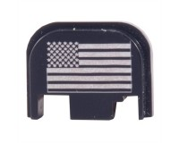 Plaque de protection culasse / Slide plate Glock - Drapeau US