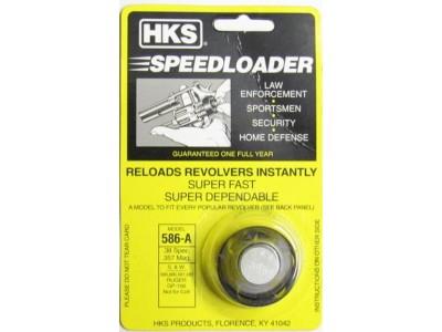 Speedloader HKS 6 coups 586-A