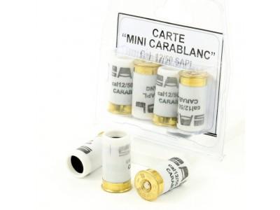 Blister de 4 Cartouches à blanc CARABALANC Cal. 12/50