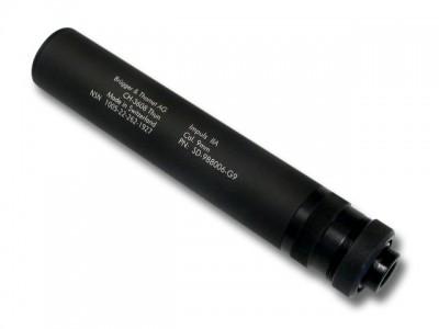 Silencieux / Modérateur 9x19 BRÜGGER & THOMET Impuls IIA pour Glock et HK