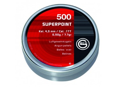 Plombs GECO SUPERPOINT 4,5mm tête pointue