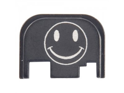 Plaque de protection culasse / Slide plate Glock - Smiley Face