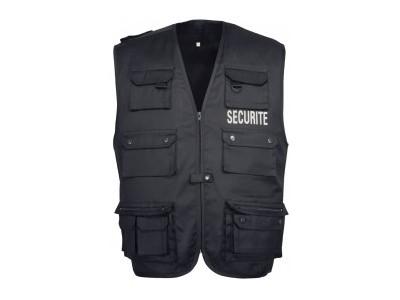 GILET REPORTER SECURITE