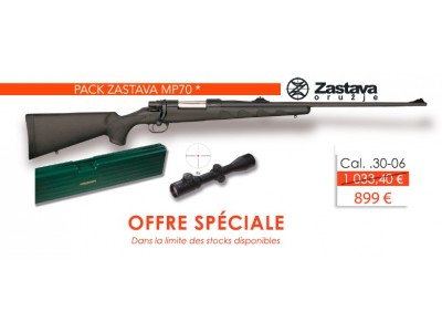 PACK CARABINE ZASTAVA MP70 PS CAL.30-06