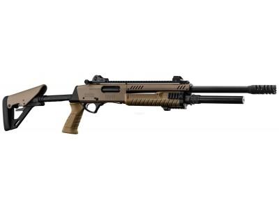 Fusil à pompe STF 12 canon 46cm TELESCO F.E