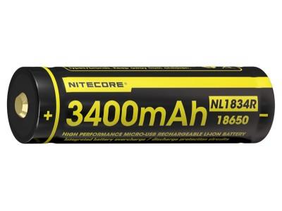 BATTERIE / ACCU RECHARGEABLE 18650 3400mAh PAR USB