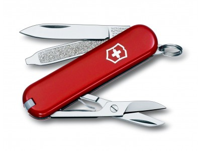 Couteau multifonction victorinox classic rouge