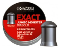 BOITE DE 200 PLOMBS JSB DIABOLO JUMBO EXACT 5,5MM MONSTER
