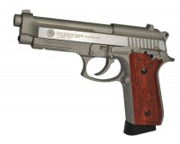 PISTOLET TAURUS PT92 SILVER 6mm CO2