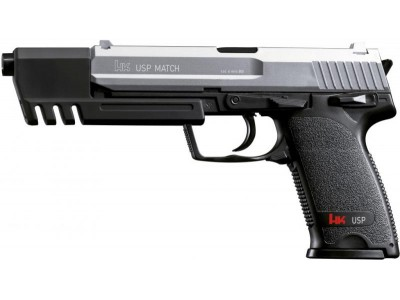 PISTOLET HK USP MATCH BICOLORE 6mm SPRING