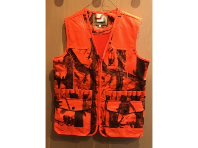 GILET DE CHASSE PERCUSSION STRONGER GHOSTCAMO FLUO
