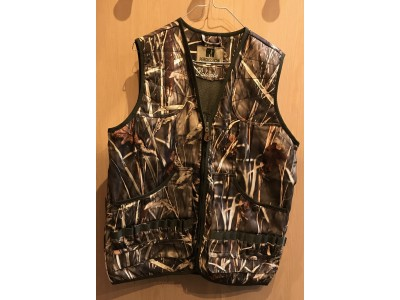 GILET DE CHASSE PERCUSSION PALOMBE GHOSTCAMO