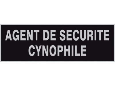 DOSSARD AGENT CYNOPHILE