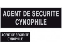 LOT 1 DOSSARD + BANDE POTRINE AGENT CYNOPHILE