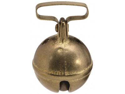 Grelot Pisteur laiton diam. 25mm passant 27mm