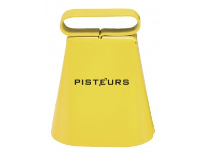 Sonnaillon Pisteur laiton jaune  6cm passant 35mm