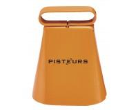 Sonnaillon Pisteur laiton orange  5cm passant 35mm