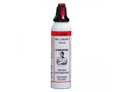 AEROSOL DE DEFENSE A GEL POIVRE 100ml ACCUSOL
