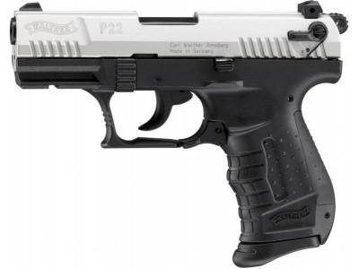 Pistolet à blanc Umarex P22 NICKELE calibre 9mm PA