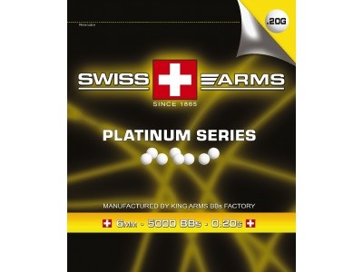 BILLES AIRSOFT SWISS ARMS 0.20G PAR 5000