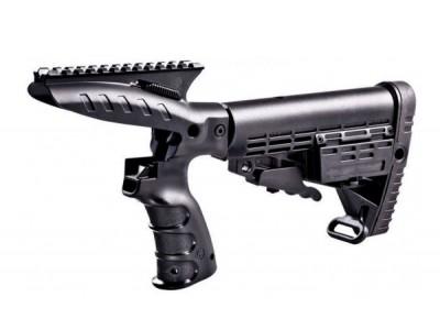 CAA Poignée + crosse type M4 + rail supérieur picatinny Remington 870