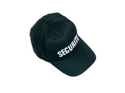 CASQUETTE SECURITE NOIR
